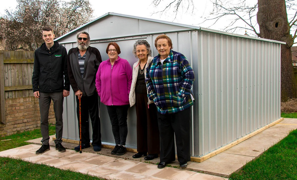 New Shed for Garden Club