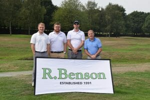R Benson 2018 Charity Golf Day