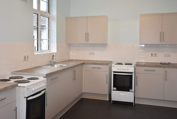 New Kitchen in Temporary Accommodation Unit in LB Ealing