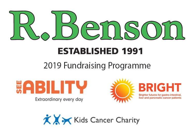 R Benson Charity Programme