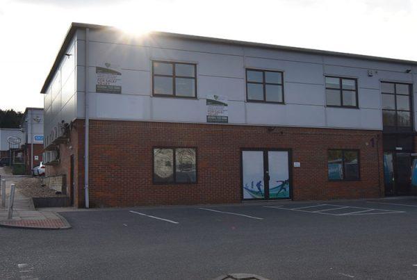 R Benson New Head Office