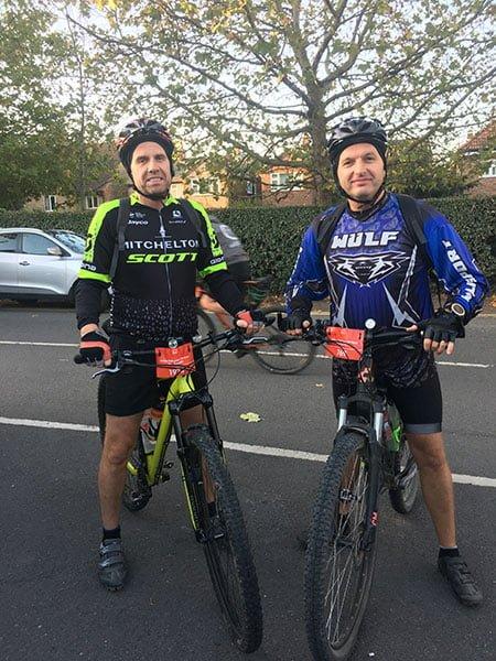 Mark & Paul London to Brighton