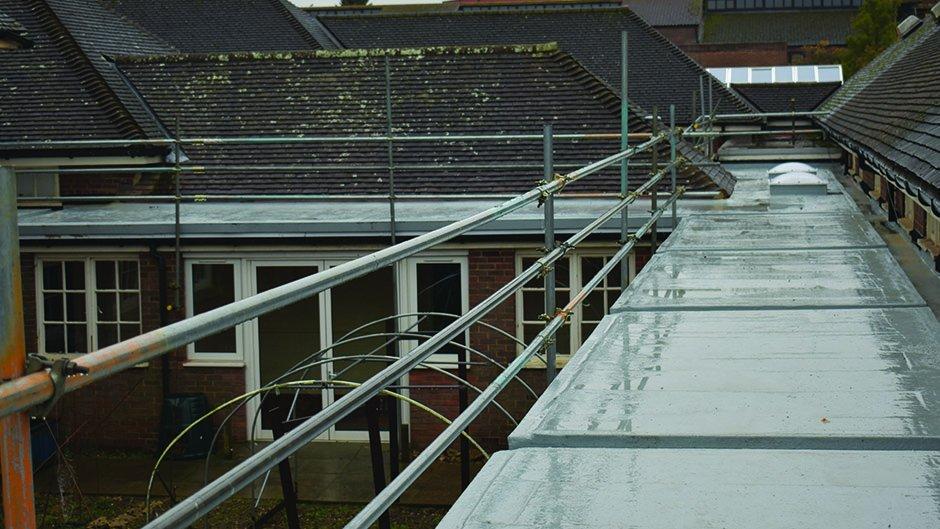 Langley Flat Roof